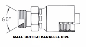 Male British Parallel Pipe (5)