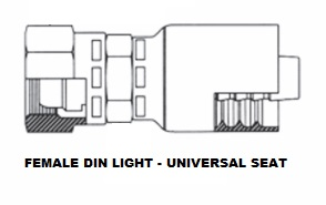 Female DIN Swivel (Light) (6)