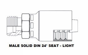 Male DIN Solid (Light) (6)
