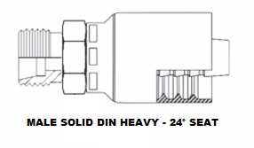 Male DIN Solid (Heavy) (5)